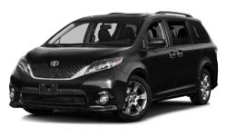 Priced below MSRP!!! Climb into savings with our special pricing on this respectable 2016 Toyota Sienna SE 8 Passenger! Big grins! Special Financing Available: APR AS LOW AS 0.9% OR REBATES AS HIGH AS