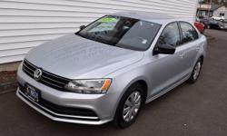 Titan Black w/Cloth Seat Trim. 5spd! Turbo!   Want to save some money? Get the NEW look for the used price on this one owner vehicle. Previous owner purchased it brand new! This Jetta will take you where you need to go every time...all you have to do is