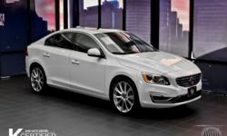 One owner love and it shows. Only one former owner! Your quest for a gently used car is over. This wonderful 2016 Volvo S60 Inscription has only had one previous owner, with a great track record and a