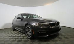 2017 BMW 5 Series 530i - This 2017 BMW 5 Series 4dr 530i xDrive features a 2.0L 4 CYLINDER 4cyl Gasoline engine. It is equipped with a 8 Speed Automatic transmission. The vehicle is Black Sapphire Met