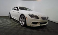 2017 BMW 6 Series 650i xDrive Gran Coupe - This 2017 BMW 6 Series 4dr 650i xDrive Gran features a 4.4L 8 CYLINDER 8cyl Gasoline engine. It is equipped with a 8 Speed Automatic transmission. The vehicl