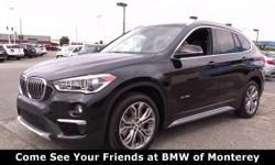 Nav System, Moonroof, Heated Seats, Power Liftgate, iPod/MP3 Input, Onboard Communications System. FUEL EFFICIENT 31 MPG Hwy/22 MPG City! xDrive28i trim, Black Sapphire Metallic exterior and Black Dakota Leather interior SEE MORE!  KEY FEATURES INCLUDE