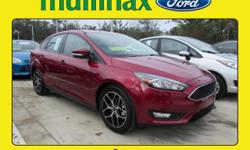 2017 Ford Focus SEL 36/26 Highway/City MPG At Mullinax there are NO DEALER FEES! That SAVES you $800 over our largest competitors every day. Just add tax.  Options:  Transmission: 6-Speed Powershift A