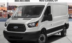Real Winner! Get Hooked On Whaling City Ford Lincoln Mazda! 2017 Ford Transit-250. There is no better time than now to buy this outstanding 2017 Ford Transit-250, just waiting for you and your family. It is nicely equipped. Tough stuff. All prices do not