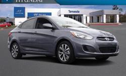 ABS brakes, Electronic Stability Control, Illuminated entry, Low tire pressure warning, Remote keyless entry, and Traction control. Save Now! Are you interested in a simply great car? Then take a look at this stunning 2017 Hyundai Accent. You, out