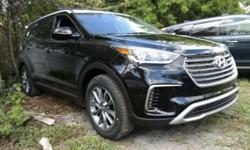 ** NEW ARRIVAL! **, SHOWROOM CONDITION, and NONSmoker. Come to the experts! All the right ingredients! This fantastic 2017 Hyundai Santa Fe is the rare family vehicle you have been searching for. Luxuriate from Alpha to Bravo. Pricing for approved