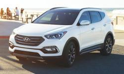 2017 Hyundai Santa Fe Sport 2.0L Turbo Gray 28/20 Highway/City MPGCall or stop by at West Palm Hyundai at 2301 Okeechobee blvd. West Palm Beach FL 33409.  Options:  Axle Ratio 3.195|Wheels: 19 X 7.5 A