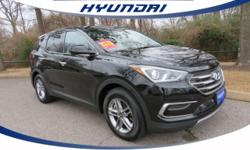 **10 YEAR 150,000 MILE LIMITED WARRANTY** see dealer for details and **CLEAN VEHICLE HISTORY REPORT***. Come to the experts! 2017 Hyundai Santa Fe Sport 2.4 Base FWD. Be the talk of the town when you
