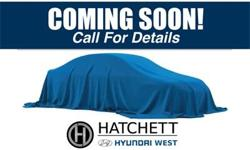 Visit Hatchett Hyundai West and make the switch today  (Formerly Scholfield Hyundai West)27/21 Highway/City MPG  Options:  Axle Ratio 3.51|Multi-Adjustable Bucket Seats|Stain-Resistant Cloth Seating S