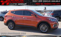 *** FREE OIL CHANGES FOR LIFE WITH PURCHASE *** Your quest for a gently used SUV is over. This handsome-looking 2017 Hyundai Santa Fe Sport has only had one previous owner, with a great track record a