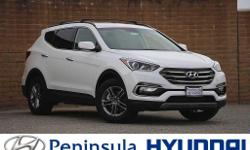 2017 Hyundai 2.4 Base Santa Fe Sport26/20 Highway/City MPG 20/26mpg  Options:  Axle Ratio 3.648|Multi-Adjustable Bucket Seats|Stain-Resistant Cloth Seating Surfaces|Radio: Am/Fm/Siriusxm/Cd/Mp3 Audio