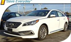 2017 Hyundai Sonata Limited Gry Leather, 4-Wheel Disc Brakes, 6 Speakers, ABS brakes, Air Conditioning, AM/FM radio: SiriusXM, Auto-dimming Rear-View mirror, Automatic temperature control, Blind Spot