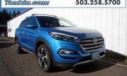 2017 Hyundai Tucson Limited 1.6L I4 DGI Turbocharged DOHC 16V ULEV II 175hp Blue TGH internet priced, AWD. Priced below KBB Fair Purchase Price! 28/24 Highway/City MPG 24/28mpgReviews:  * Turbocharged