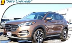2017 Hyundai Tucson Limited AWD, 4-Wheel Disc Brakes, 8 Speakers, ABS brakes, Air Conditioning, Alloy wheels, AM/FM radio: SiriusXM, Auto-dimming Rear-View mirror, Automatic temperature control, Axle Ratio: 3.579, Blind Spot Sensor, Brake assist, Bumpers: