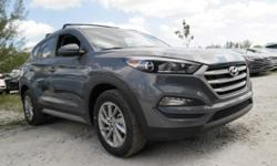 ** NEW ARRIVAL! **, SHOWROOM CONDITION, and NONSmoker. Go Green! Comfortable seating welcomes you into the fold. Be the talk of the town when you roll down the street in this gas-saving 2017 Hyundai Tucson. Remarkable performance with exceptionally good