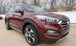 Automax Hyundai Del City is pleased to offer this attractive 2017 Hyundai Tucson. The SUV you've always wanted! In a class by itself! Take your hand off the mouse because this 2017 Hyundai Tucson is t