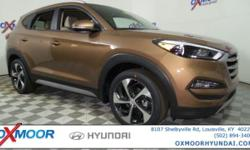 2017 Hyundai Tucson Sport 30/25 Highway/City MPGAwards:  * 2017 IIHS Top Safety Pick Price includes: $1,000 - Retail Bonus Cash - National. Exp. 02/28/2017  Options:  Axle Ratio: 3.579|Heated Front Bucket Seats W/Power Driver's Seat|Yes Essentials Cloth