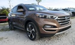 ** NEW ARRIVAL! **, SHOWROOM CONDITION, and NONSmoker. Adheres to the road like glue. Be the talk of the town when you roll down the street in this outstanding-looking 2017 Hyundai Tucson. This Tucson has all the luxury and sophistication your heart