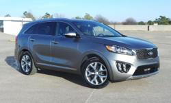 Priced below KBB Fair Purchase Price! 2017 Kia Sorento Titanium Silver 6-Speed Automatic with Sportmatic Limited V6 Price does not include documentation fee. Price includes: $500 - Owner Loyalty Progr