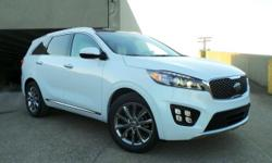 Priced below KBB Fair Purchase Price! Recent Arrival! 2017 Kia Sorento Snow White Pearl 6-Speed Automatic with Sportmatic Limited V6 Price does not include documentation fee. Price includes: $500 - Ow