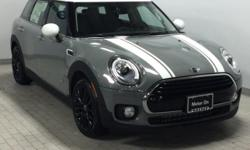 Heated Seats, All Wheel Drive, Turbo Charged Engine, Bluetooth, iPod/MP3 Input, LED FOG LIGHTS, SPORT PACKAGE. EPA 32 MPG Hwy/22 MPG City! Cooper ALL4 trim, Moonwalk Grey metallic exterior and Carbon