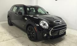 Sunroof, NAV, Heated Seats, MINI YOURS PIANO BLACK ILLUMINATED IN... Turbo, Bluetooth, iPod/MP3 Input, All Wheel Drive, ROOF RAILS. Cooper S ALL4 trim, Midnight Black metallic exterior and Leather Lou