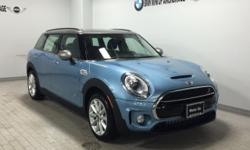 Heated Seats, All Wheel Drive, iPod/MP3 Input, Bluetooth, Turbo Charged, REAR SPOILER, COLD WEATHER PACKAGE. Digital Blue Metallic exterior and Chesterfield Leather Indigo interior, Cooper S ALL4 trim