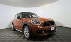 Stroll on down here! Get ready to ENJOY!    Do you want it all, especially plenty of performance? Well, with this great-looking 2017 Mini Cooper Countryman, you are going to get it.. Drive in the air