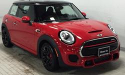 Sunroof, Heated Seats, iPod/MP3 Input, Bluetooth, Turbo Charged, COCKPIT CHRONO PACKAGE, PREMIUM PACKAGE. EPA 32 MPG Hwy/23 MPG City! John Cooper Works trim, Chili Red exterior and Carbon Black Dinami