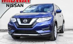 2017 Nissan Rogue S 33/26 Highway/City MPGAwards:  * 2017 IIHS Top Safety Pick+  Options:  4 Speakers|Am/Fm Radio: Siriusxm|Cd Player|Mp3 Decoder|Radio Data System|Radio: Am/Fm/Cd/Aux|Air Conditioning