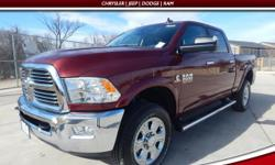Stability and traction control come to grips with the road. Take hold of the road with advanced stability and traction control. Set down the mouse because this attractive 2017 Ram 2500 is the tough tr