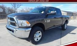 Take charge of the winding road. Stability and traction control come to grips with the road. Are you interested in a truly wonderful truck? Then take a look at this good-looking 2017 Ram 2500. Climb i