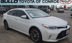 White 2017 Toyota Avalon XLE Premium 30/21 Highway/City MPGAwards:  * 2017 IIHS Top Safety PickLet the team at Gullo Toyota introduce you to an entirely new kind of car-buying experience. You will lov