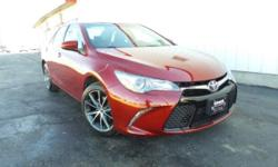 Clean AutoCheck and One Owner. 7.0J x 17 Alloy Wheels. Red and Ready! Best color! If you've been hunting for the perfect 2017 Toyota Camry, well stop your search right here. This is the perfect car th