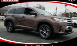 KICK OFF THE NEW YEAR WITH A NEW CAR!!! Open 7 Days A Week!!! 4 Years of Complimentary Maintenance!!! We Want Your Business!!! 2017 Toyota Highlander LE Walnut ABS brakes, Active Cruise Control, Elect