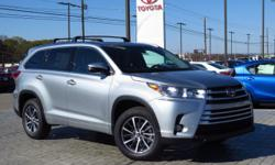 New Arrival! *Navigation* *Bluetooth* *Sunroof/Moonroof* This 2017 Toyota Highlander XLE is Celestial Silver Metallic with a Ash interior.  This Toyota Highlander   XLE comes with great features inclu