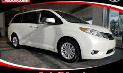 KICK OFF THE NEW YEAR WITH A NEW CAR!!! Open 7 Days A Week!!! 4 Years of Complimentary Maintenance!!! We Want Your Business!!! 2017 Toyota Sienna XLE Premium 8 Passenger Blizzard Pearl ABS brakes, All