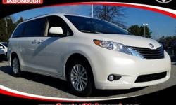 Recent Arrival! KICK OFF THE NEW YEAR WITH A NEW CAR!!! Open 7 Days A Week!!! 4 Years of Complimentary Maintenance!!! We Want Your Business!!! 2017 Toyota Sienna XLE 8 Passenger Blizzard Pearl ABS bra