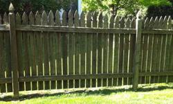 Fence, Fence Panels, Cedar 20.00 Each Panels are 5 feet high x 91 inches to 94 inches long . The lengths vary as it was constructed on site to fit my yard exactly. There are also some smaller panels &