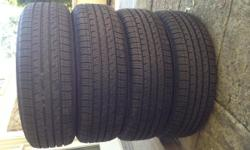 Brand new condition set of 4 good year assurance comforted touring tires.