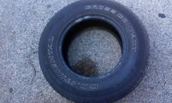 I am selling two used tires. 6/32 tread left. $30 for one or $50 for both.