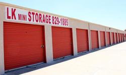"LK Mini Storage is your pleasant community storage property. Our well-informed personnel is constantly right here to help you so you can ""Move in, Lock & & Go!""  .$26.00 MOVE-IN SPECIAL on ALL SYSTEMS"