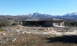 Million $ homes w/Million $ views!! Self-sustaining 4.7 acre estate! Sits on top of Sycamore Creek Valley in famous, gated Whitney Ranch, private sub. 29 miles from Phoenix Valley. Property lines w/To