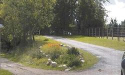 Great opportunity for a small equestrian facility or a location for your dream home. This very private 5.1 acre property, at the end of a lane, includes a cottage, two manufactured homes, and office/c
