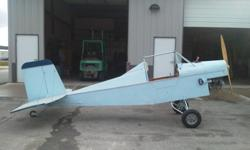 Very well engineered Ultra Light. An engineer constructed it, so it comes with a complete set of drawings. It runs great, I just have hardly flown it. It has been stored in a car hauler, so it has bee