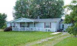 Move in ready country living minutes from Charleston and Mattoon. This 3 bedroom 2 bath Manufactured home with 2 car attached garage and large lot just south of Lerna is awaiting for you to call it ho