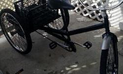 3 WHEEL BIG PERSONS TRIKE. HEAVY DUTY. MADE BY WORKMAN CYCLE. WILL DELIVER IF NEEDED CALL TO SEE  ...314.518.8558