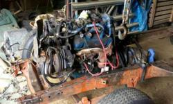 1981 Chevrolet 3.8L V6 motor.Carburated.Same motor that is in Buicks, Chevrolets, Oldsmobiles, and Pontiacs.Came out of a malibu,ran good before took out of the car a couple days ago.originally a four