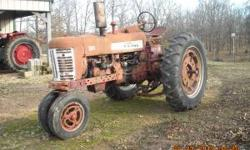300 Farmall Narrow front, 3 point, External hydraulic, 12 volt, Good tires, starts and runs good. Has a 6ft pull type brush hog to go with. Contact number 417-257-4059 (no text please) Location: Caboo