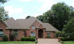 Gorgeous CUSTOM built full brick 6bd/5.5 Bth home located in quiet culdesac @ Arrowhead Golf Comm. Every room is spacious w/ inlayed ceramic tile & hardwood floors in entry/LR, custom wood ceiling in